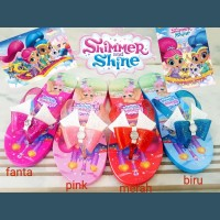 Sandal anak shimmer shine / shimmer and shine