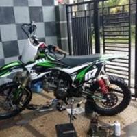 Dijual rangka frame trail custom YZ KTM CRF KX KlX PNP segala Murah