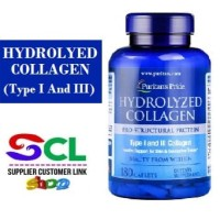 Puritan Hydrolyzed Collagen 1000 mg 180 Caplets