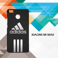 Casing HP Xiaomi Mi Max Adidas black stripes center X4956 Custom Case
