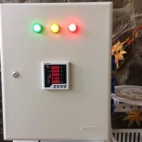 Panel PLN Genset 23 KVA 3 Phasa 380 400 V Digital Hz Volt Ampere Meter
