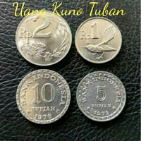 Paket Uang Kuno Mahar Pernikahan 18 Rupiah Koin 10 5 2 1
