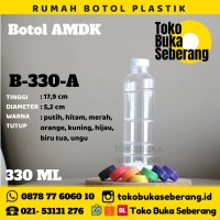 Botol Plastik 330ml / Botol Jus / Botol Minum / Pet (SHORT NECK)