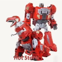 Set of 5 Transformer Dinoking Dinobot Grimlock Slug Swoop Sludge Snarl Slash Box