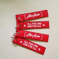 Gantungan Kunci Bordir Air Asia