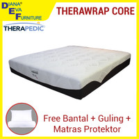 Kasur Therawrap Core 200x200 - Therapedic Spring Bed