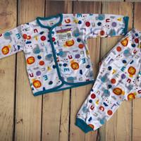 LIBBY Setelan Baju+Celana Panjang Motif Elephant (M-L)
