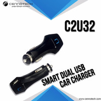 Car Charger C2U32 2 Port /Charger Mobile Cennotech