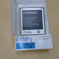 Baterai Original Samsung Galaxy 5.8 Mega / battrey / batrai / batre hp