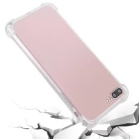 Softcase TPU Anticrack Casing Jelly Cover Case Bening HP Vivo V9/Plus