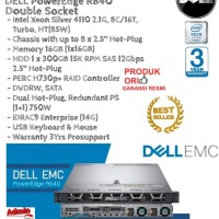 DELL Server R640 Intel Xeon Silver 4110 Double Socket RackmountSeries