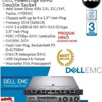 DELL Server R640 Intel Xeon Silver 4116 Double Socket RackmountSeries