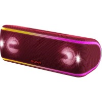 Sony Extra Bass Portable Bluetooth Speaker SRS - XB41 - Red
