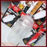 Murah Shaker Glass Transparan 530 cc Gelas Shaker Kocok 530cc Akrilik