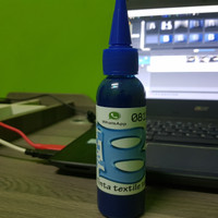 tinta textile biru 100 ml for printer DTG