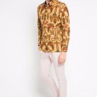 TERLARIS ARTHESIAN Kemeja Premium Batik Pria Papua Batik Printing ker