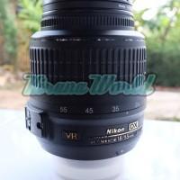 Nikon AF-S Nikkor 18-55mm f/3.5-5.6G DX VR Lensa Zoom - Second Ex Alta