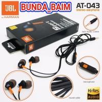 HEADSET JBL AT-043 PURE BASS / HANDSFREE JBL AT043 EXTRA BASS