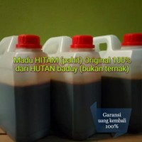 Harga madu hitam pahit original murni 100 dari hutan baduy | Pembandingharga.com