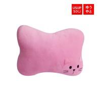 Usupso Adorable Kitty Headrest Pillow / Bantal Mobil