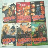 Paket Komik Naruto Elex media vol. 40-45