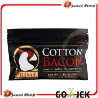Cotton Bacon Prime - Vape Cotton - Kapas Organik Khusus Vape