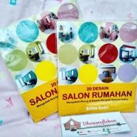 Buku Majalah Interior : 20 Desain Salon Rumahan - Erlina Badri