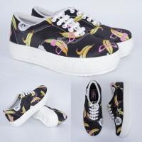 Harga pakaian wanita sepatu banana hitam p05 sepatu wanita | Pembandingharga.com