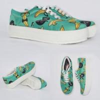 Harga pakaian fashion wanita sepatu banana hijau p05 sepatu wanita   Pembandingharga.com