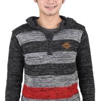 Sweater Hoodie Pria rajut abu Catenzo WD 024 ori asli original murah