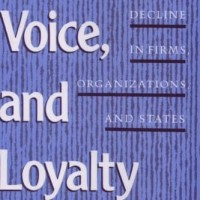 Exit, Voice, and Loyalty - Albert O. Hirschman (Economic/ Business)