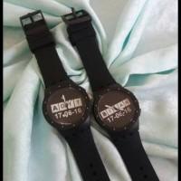 Super Murah Jam Tangan Couple Bisa Tulis Nama Dan Tanggal