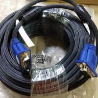 Kabel Vga to Vga Cable Panjang 20M Murah Berkualitas Limited