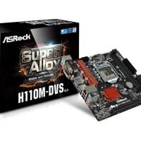 ASRock H110M-DVS (LGA1151, H110, DDR4)