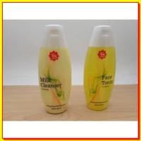 KOSMETIK ANDA PAKET Viva Milk Cleanser dan Face Tonic Lemon Pembersih