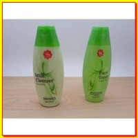 KOSMETIK ANDA PAKET Viva Milk Cleanser dan Face Tonic Green Tea Pember