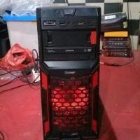 wts jual pc cpu komputer gaming 2nd bekas i3 include monitor layarnya