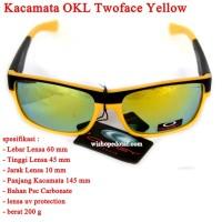 Sunglasses Kacamata Pria OKL Twoface YELLOW