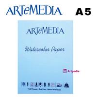 Artemedia Watercolor Paper A5 / Kertas Khusus Cat Air A5 - Termurah