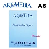 Artemedia Watercolor Paper A6 - Terlaris - Termurah Isi 12 Lembar