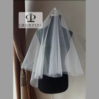Kain Veil / Kain Tile Bridal Shower per Meter