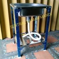 Kitchen Sink Royal SB 42 K/Bak Cuci Piring Kaki Stainless Steel Royal