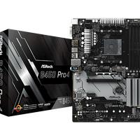 MATHEBOARD ASROCK B450 PRO4 AMD AM4 SOCKET DDR4