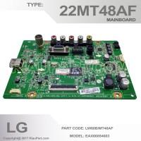 MAINBOARD MESIN TV LG LED LG 22MT48AF EAX66854603 LW60B/MT48AF