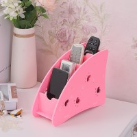 525A PINK Tempat remote AC , TV , HP, ATK Desktop storage Megahome