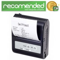 Xprinter POS Bluetooth Thermal Receipt Printer 58mm - XP-P100 - Hitam