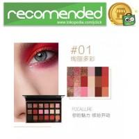 Focallure Eye Shadow Palette - No.1 - No. 1