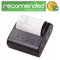 Xprinter POS Bluetooth Thermal Receipt Printer 80mm - XP-P800 - Hitam