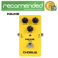 NUX Pedal Efek Gitar True Bypass - CH-3 - Kuning