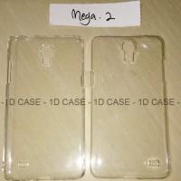 Hardcase Bening / Transparant Mika Samsung MEGA 2